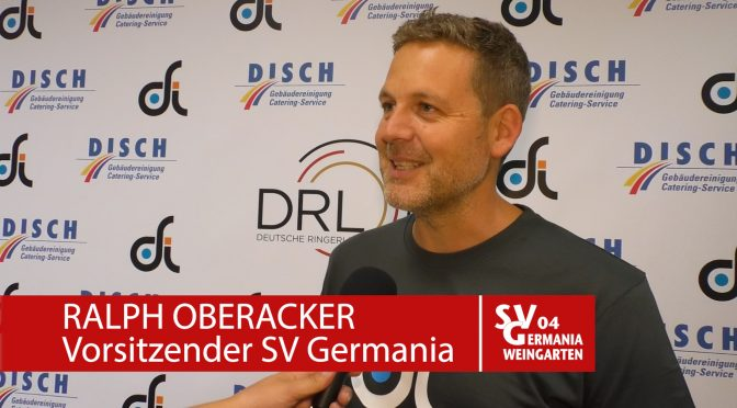 VIDEO: Ausblick SVG-VfK: Ralph Oberacker im Interview