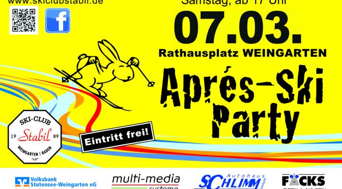 Ski-Club Stabil: Après Ski Party auf dem Rathausplatz